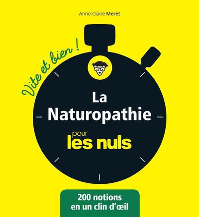 LA NATUROPATHIE VITE ET BIEN POUR LES NULS