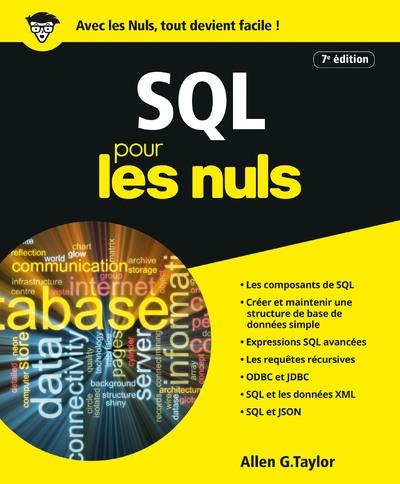 SQL POUR LES NULS, 7E