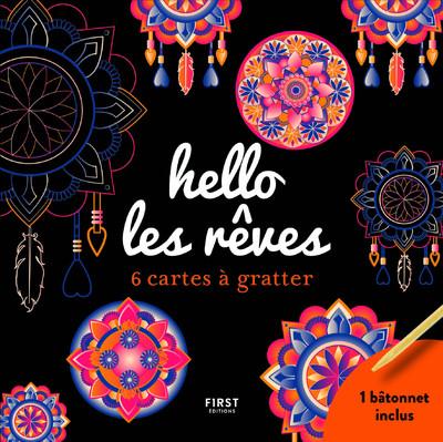 HELLO LES REVES - 6 CARTES A GRATTER