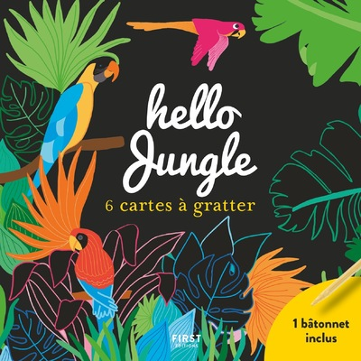 CARTES A GRATTER HELLO JUNGLE