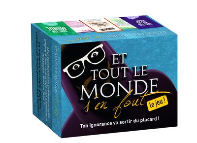ET TOUT LE MONDE S'EN FOUT - LE JEU