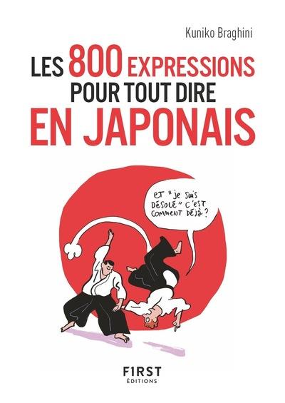 PETIT LIVRE DE - LES 800 EXPRESSIONS POUR TOUT DIRE EN JAPONAIS