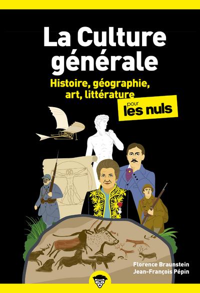 CULTURE GENERALE POCHE POUR LES NULS - TOME 1 NOUVELLE EDITION