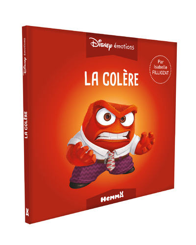 DISNEY EMOTIONS LA COLERE (VICE-VERSA)