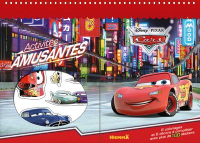 CARS ACTIVITES AMUSANTES
