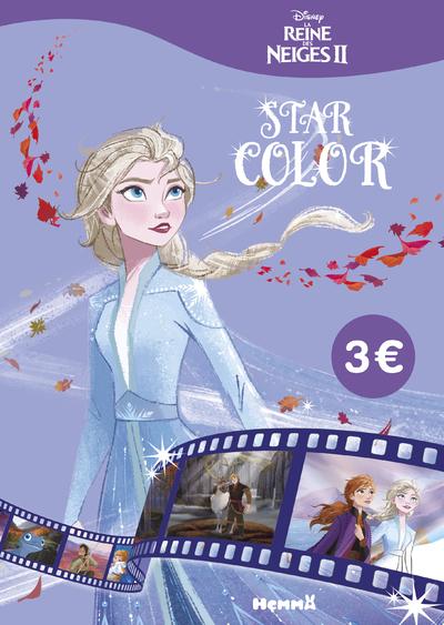 DISNEY LA REINE DES NEIGES 2 - STAR COLOR (ELSA)
