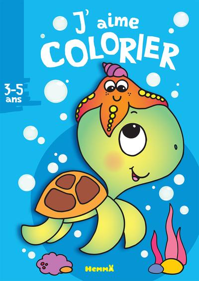 J'AIME COLORIER (3-5 ANS) (TORTUE)