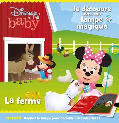 DISNEY BABY - JE DECOUVRE AVEC MA LAMPE MAGIQUE - LA FERME
