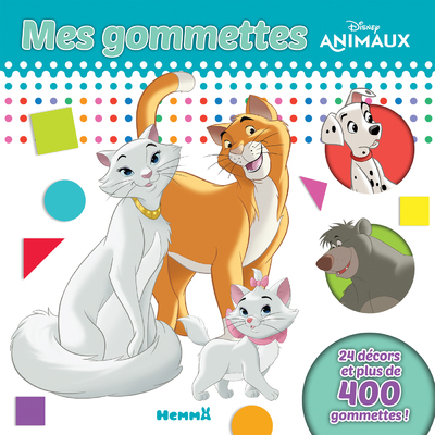 DISNEY ANIMAUX MES GOMMETTES (LES ARISTOCHATS)