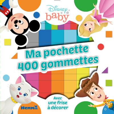 DISNEY BABY MA POCHETTE 400 GOMMETTES (WOODY-ARISTOCHATS)