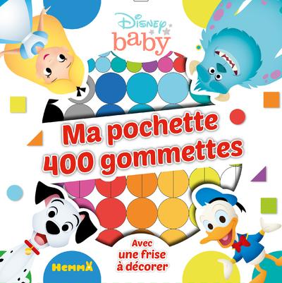 DISNEY BABY MA POCHETTE 400 GOMMETTES (DONALD-101 DALMATIENS)