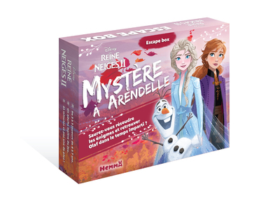 DISNEY LA REINE DES NEIGES 2 ESCAPE BOX - MYSTERE A ARENDELLE