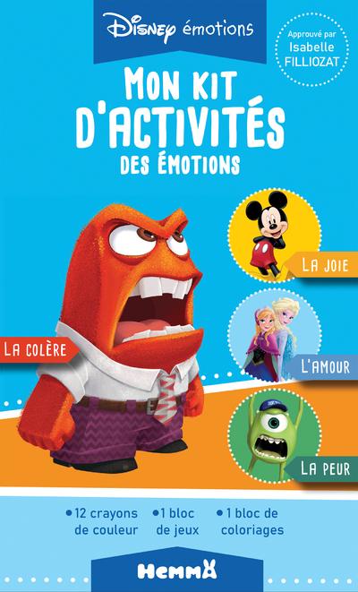 DISNEY EMOTIONS - MON KIT D'ACTIVITES DES EMOTIONS