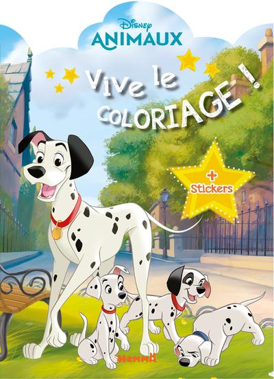 DISNEY ANIMAUX - VIVE LE COLORIAGE !