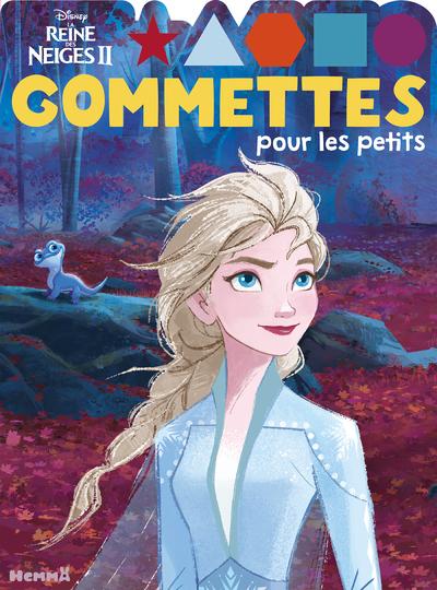 DISNEY LA REINE DES NEIGES 2 - GOMMETTES POUR LES PETITS (ELSA)