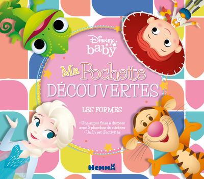DISNEY BABY MA POCHETTE DECOUVERTES - LES FORMES