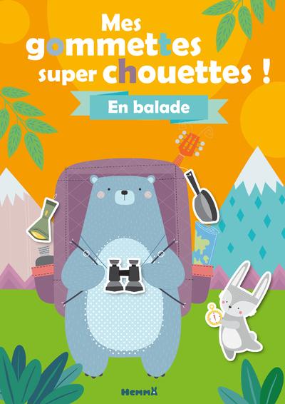 MES GOMMETTES SUPER CHOUETTES ! - EN BALADE