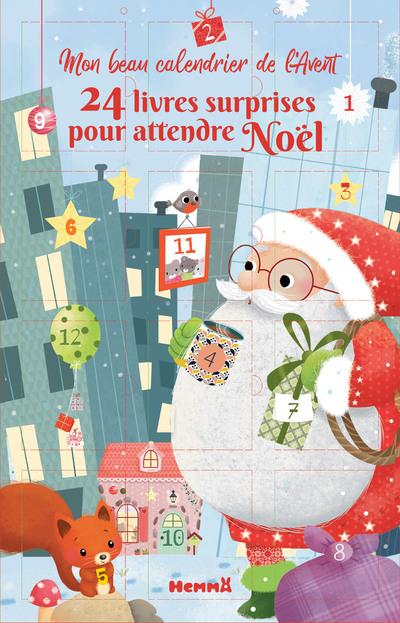 MON BEAU CALENDRIER DE L'AVENT - 24 LIVRES SURPRISES POUR ATTENDRE NOEL