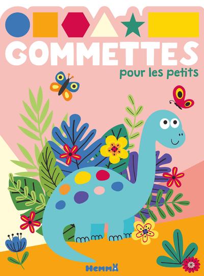 GOMMETTES POUR LES PETITS (DINOSAURE BLEU)