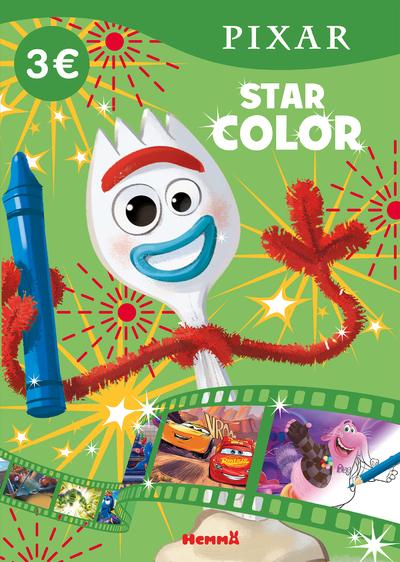 DISNEY PIXAR - STAR COLOR (FORKY)