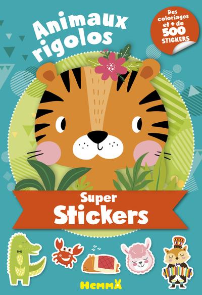 SUPER STICKERS - ANIMAUX RIGOLOS