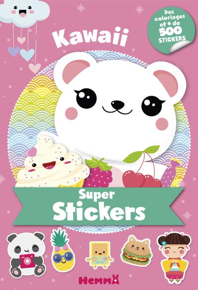 SUPER STICKERS - KAWAII