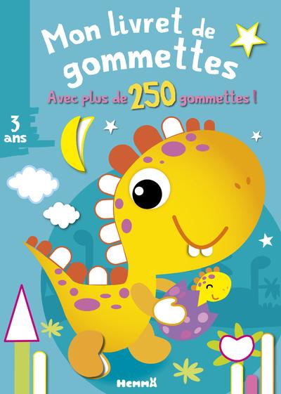 MON LIVRET DE GOMMETTES (DINOSAURE JAUNE)