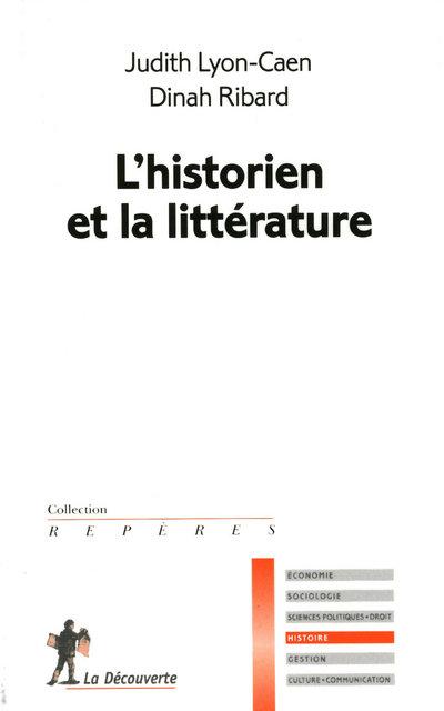 L'HISTORIEN ET LA LITTERATURE