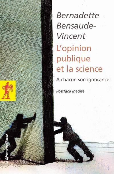 OPINION PUBLIQUE ET LA SCIENCE - A CHACUN SON IGNORANCE