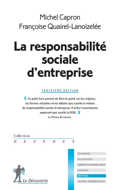 LA RESPONSABILITE SOCIALE D'ENTREPRISE 3 EDITION