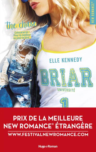 BRIAR UNIVERSITE - TOME 1 THE CHASE - PRIX DE LA MEILLEURE NEW ROMANCE ETRANGERE 2019