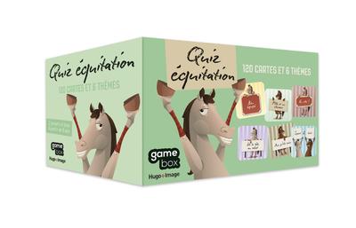 GAME BOX QUIZ EQUITATION