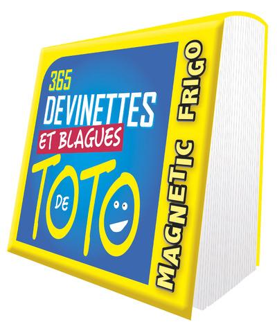 MAGNETIC FRIGO 365 DEVINETTES ET BLAGUES DE TOTO 2021