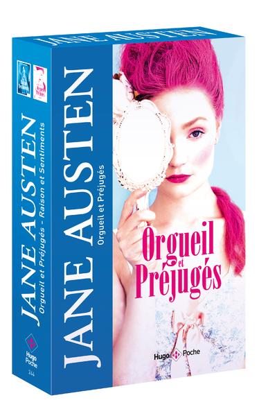 COFFRET COLLECTOR - JANE AUSTEN EN 2 VOLUMES : ORGUEIL ET PREJUGES ET RAISON ET SENTIMENTS