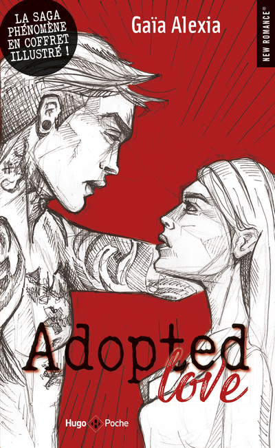 ADOPTED LOVE - 3 TOMES ILLUSTRES