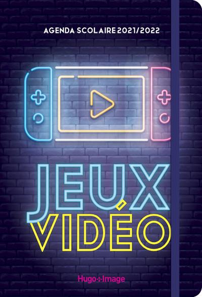 AGENDA SCOLAIRE JEUX VIDEOS 2021 - 2022