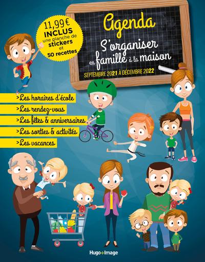 AGENDA S'ORGANISER EN FAMILLE A LA MAISON 2021 - 2022