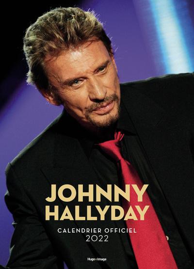 CALENDRIER MURAL JOHNNY HALLYDAY 2022