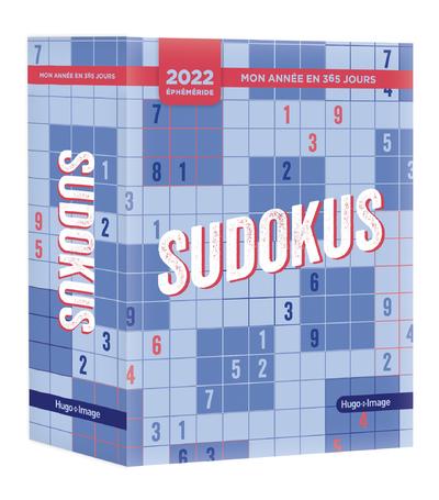 MON ANNEE EN 365 JOURS - SUDOKUS - ÉPHEMERIDES 2022