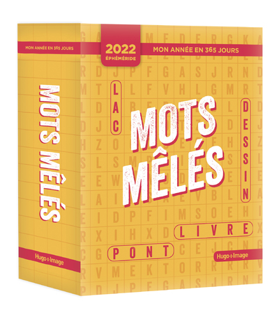 MON ANNEE EN 365 JOURS - MOTS MELES