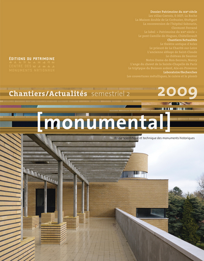 MONUMENTAL 2009-2 - PATRIMOINE AU XXE