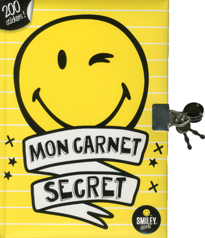 SMILEY - MON CARNET SECRET