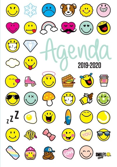 SMILEY - AGENDA EMOTICONES 2019-2020