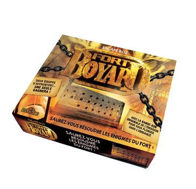 FORT BOYARD - ESCAPE BOX - ESCAPE GAME ENFANT DE 2A 6 JOUEURS - DES 8 ANS