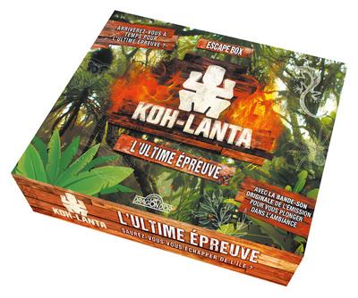 KOH-LANTA - L'ULTIME EPREUVE - ESCAPE GAME ENFANT DE 2 A 5 JOUEURS - DES 8 ANS