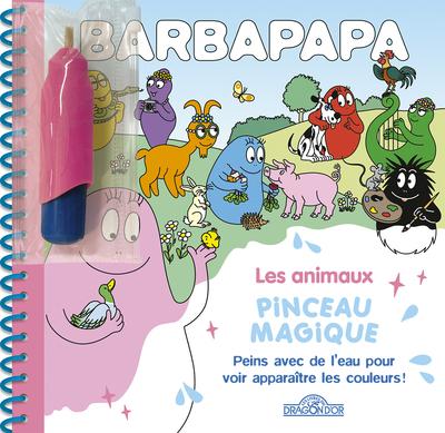 BARBAPAPA - PINCEAU MAGIQUE - LES ANIMAUX