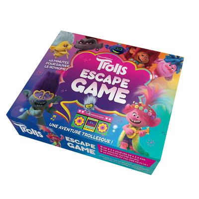LES TROLLS - ESCAPE GAME - UNE AVENTURE TROLLESQUE- ESCAPE GAME ENFANTS - DE 2 A 5 JOUEURS - DES 6