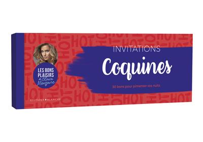 CHEQUIER INVITATIONS COQUINES - LES BONS PLAISIRS DE CLARA MORGANE
