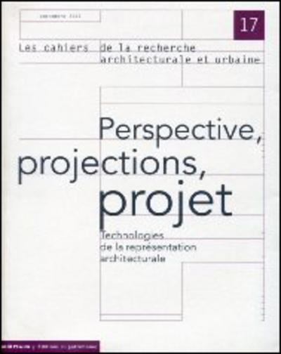 PERSPECTIVE, PROJECTIONS, PROJET - TECHNOLOGIE DE