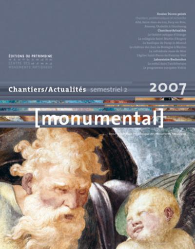 """MONUMENTAL 2007 2ÈME SEMESTRE. DOSSIER """"DÉCORS PEINTS"""""""
